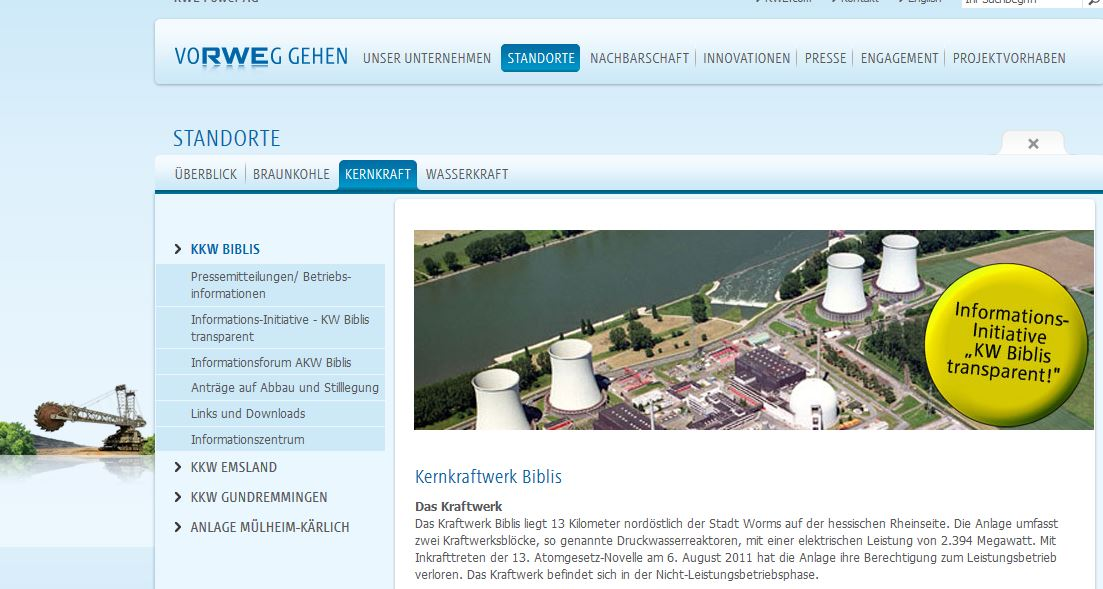 RWE Informations Initiative