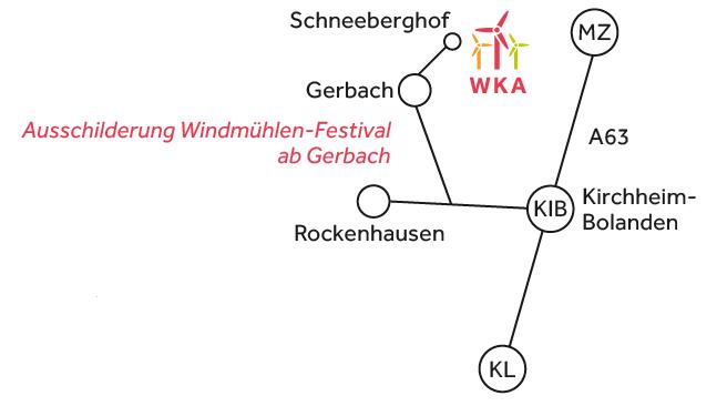 Schneeberger Hof Anfahrt