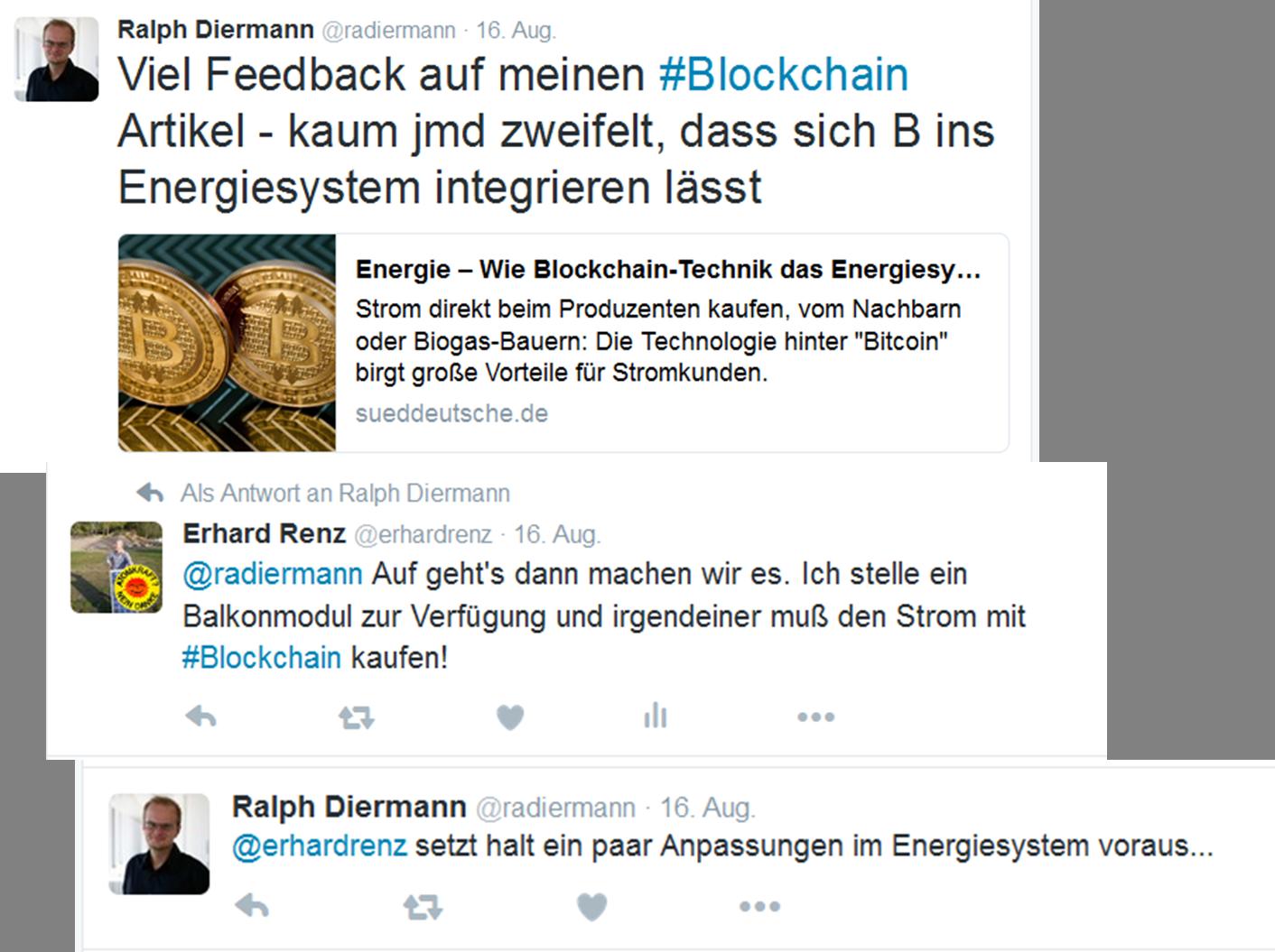 Blogchain Twitter