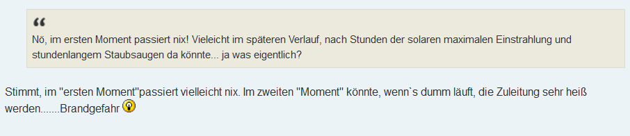 Kommentar PV Forum