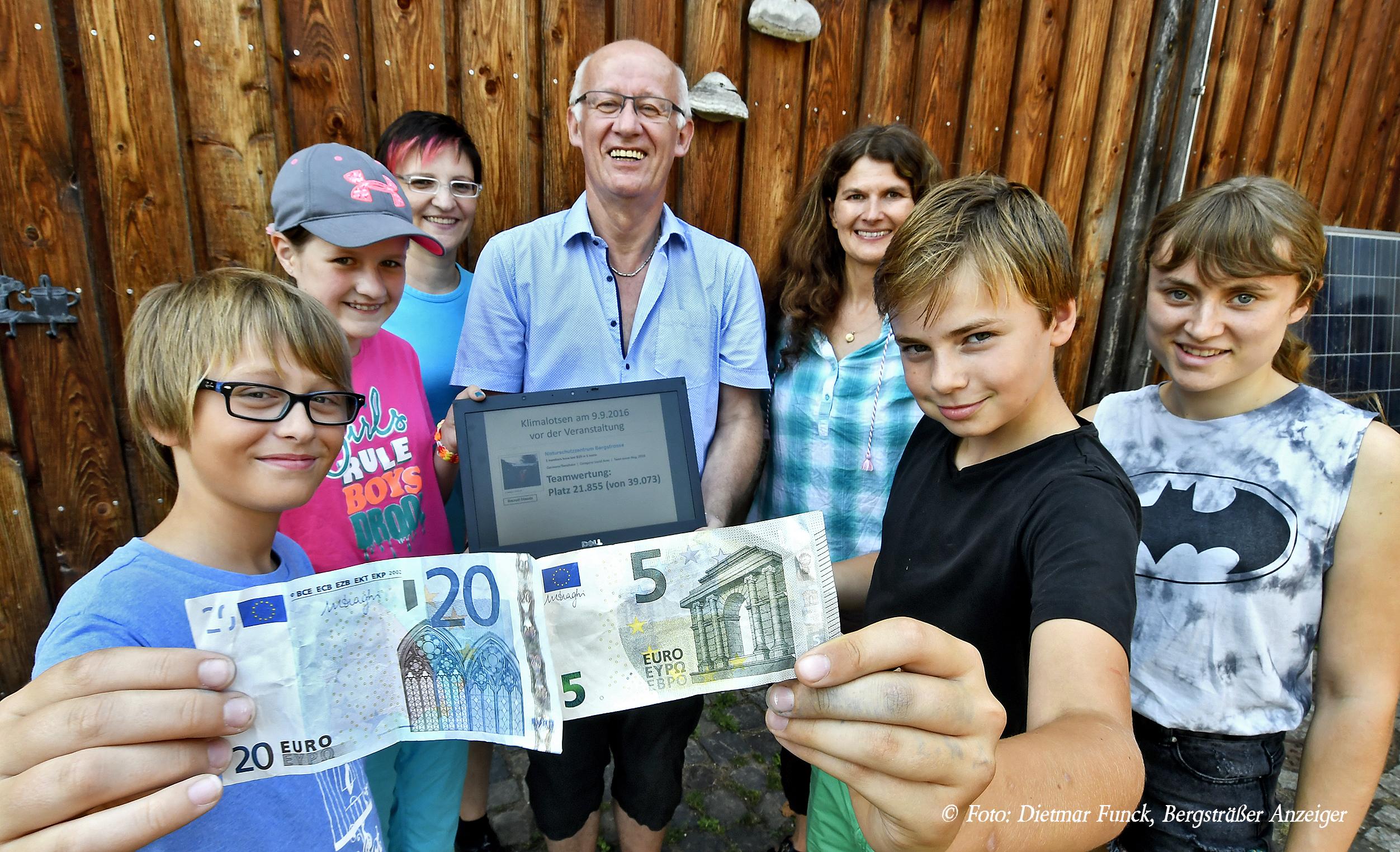 Bensheim, Naturschutzzentrum; Klimalotsen bestimmen ueber Kleinkredite; Bild: Dietmar Funck